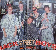 Backstreet Boys in japan