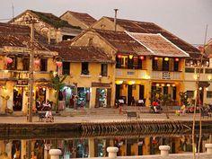 Vieille ville de Hoi An, Vietnam …