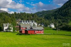 What's A Cruise To The Norwegian Fjords Like From Southampton? - Explore With Ed Caribbean Cruise, Royal Caribbean, Southampton, Norway Landscape, Viking Village, P&o Cruises, Wooden Cottage, Caribbean Culture, Alesund