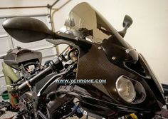 double bubble installed to headlight housing on Sportbike Motorcycles, Sport Bikes, Ducati, Carbon Fiber, Bubble, Vehicles, Bmw Motorrad, Racing Motorcycles, Sportbikes