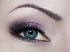 Famous on Makeup Geek. Love the light purple, so pretty!
