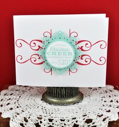 Another great non-photo card using Photo Finishers: Holiday