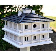 Decorative Clubhouse Birdhouse, $109.99, Novelty Pedestal, $69.99, Classic Pedestal with Auger, $99.99