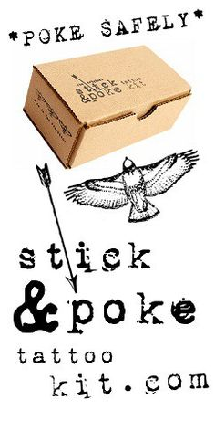 Get inspired by our original Stick and Poke tattoo ideas, see our latest sick and pokes, and learn how to tattoo yourself safely.