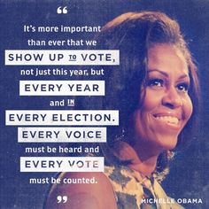 Tell your friends about how important this election is, and encourage them to vote.
