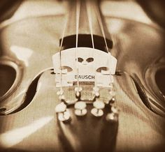 love, my all time favorite instrument…miss playing my violin…need to start soon as my husband bought me new strings and changed them for me….oh, thank you God for the gift of music..