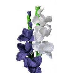 Gladiolus Crochet Pattern