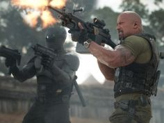 "This film image released by Paramount Pictures shows Ray Park, left, and Dwayne Johnson in a scene from ""G.I. Dwayne Johnson The Rock, Rock Johnson, Dwayne The Rock, Best Latest Movies, Latest Hollywood Movies, Gi Joe, Action Movies 2016, Film D'action, Action Movies"