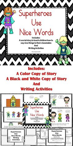 A fun social story to teach children to be respectful to others. #education