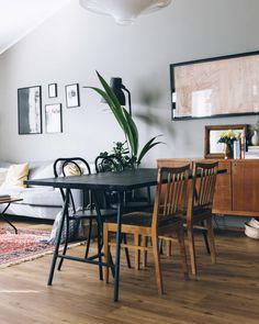 DIY-ruokapöytä / DIY table   Pinossa Wishbone Chair, Bauhaus, Lifestyle Blog, Diy Ideas, Bbq, Furniture, Home Decor, Barbecue, Decoration Home