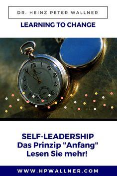 Die Erfahrung zeigt wachen Menschen, dass im Beginn von Ereignissen deren Verlauf sich schon abzeichnet, weshalb sie jeden Anfang wichtig nehmen und mit Aufmerksamkeit betrachten. #selfleadership #selbstführung #selbstmanagement Leadership, Blog, New Start, People, Blogging