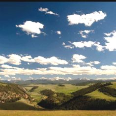 Big Sky country...where my mom grew up. Took trips here in my childhood to visit our grandparents!