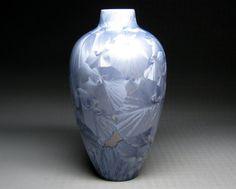 BEVAN NORKIN crystalline pottery vase 1985