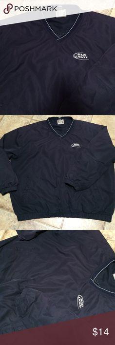 Bud light XL men's lightweight pull over jacket Good shape Jackets & Coats