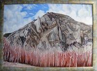 Original Landscape Painting by Costin Cristian Istian Oil On Canvas, Canvas Art, Original Paintings, Original Art, Mountain Paintings, Romania, Birch, Buy Art, Saatchi Art