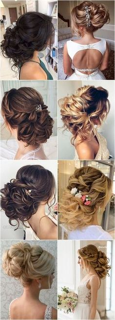 Featured Hairstyle: Elstile; www.elstile.ru; Wedding hairstyle idea. #weddinghairstyles