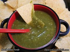 Hatch Tomatillo Salsa Verde