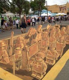 #chalk art  EPICALLY RAD.