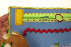 Sew an Alzheimer's Activity Mat as seen on Sewing With Nancy Zieman