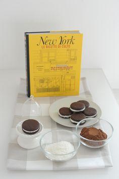 Receta de las galletas Oreo   -   Recipe Oreo cookies   -   La Ricetta degli Oreo fatti in casa