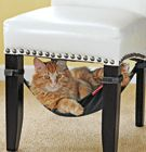 Give kitty a cozy place to nap with Cat Crib Hammock.