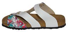 Papillio Slipper 380261 PISA BF VANILLA FLO, WER LILAC/WHITE SOFT, EU 43: Amazon.de: Schuhe & Handtaschen
