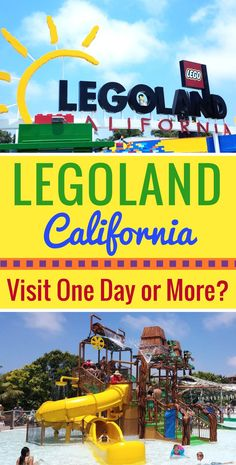 Is LEGOLAND California a multi-day theme park? Find out if you should visit LEGOLAND California for more than just one day.