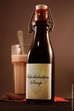 Schokoladen Sirup... als Kakao, zu pochierten Birnen oder Vanille Eis...yummy.