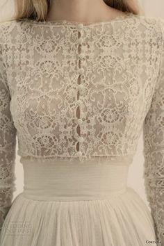 cortana bridal jacket vesta chaqueta tulle lace silk corset 1950s weddingdress bridal vintage