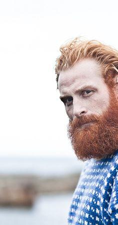 Ginger beard, Beards and Kristofer hivju on Pinterest