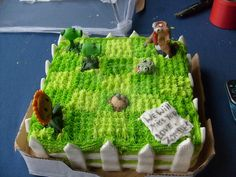 Plants Vs Zombies Cake by PossumPip-Creations.deviantart.com on @deviantART