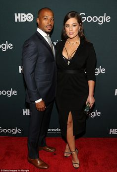 And plus size model Ashley Graham sure seems to want to make the most of her visit. Ashley Graham Style, Divas, Plus Size Clothing Stores, Garance, Mode Plus, Interracial Couples, Plus Size Model, Glamour, Beautiful Couple