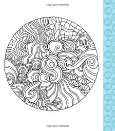 20 best Color Me Stress Free Coloring Book images on Pinterest ...