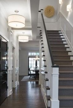 Colonial House Interior peter zimmerman architects - perfect use of sconce lighting in
