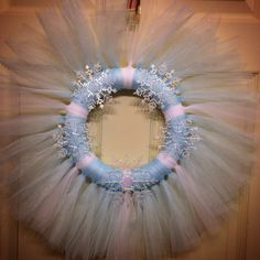 Snowflake wreath- follow me on FB Hollie's wreaths