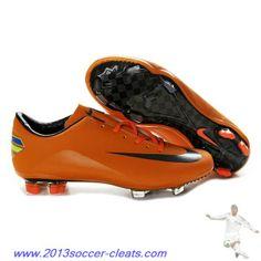 brand new 86007 bbdbb Authentic Nike Mercurial Vapor Superfly Iv FG Orange Black For Wholesale  Nike Soccer Shoes, Football