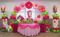 Resultado de imagen para strawberry shortcake party invitations