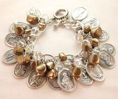 Reclaimed Rosary Bracelet
