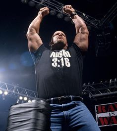 Stone Cold Steve Austin by Steve Austin, Attitude Era, Watch Wrestling, Stone Cold Steve, Wwe News, Professional Wrestling, Wwe Superstars, Great Stories, All About Time