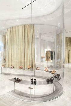 ♂ Commercial interior design - derek lam store by sanaa