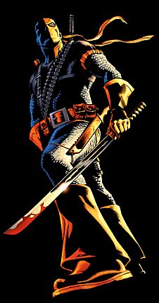Photo of Deathstroke for fans of DC Comics 14486042 Deathstroke Costume, Dc Deathstroke, Deathstroke The Terminator, Deadshot, Comic Book Characters, Comic Character, Comic Books, Fictional Characters, Batman Universe