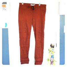 RSQ Jeggings size 11R Rust-colored Jeggings, worn once Tilly's Jeans Skinny