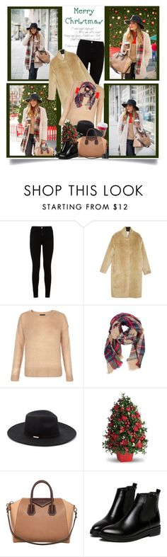 """""""It Feels Like Christmas"""" by malinda108 ❤ liked on Polyvore featuring mode, 7 For All Mankind, Forte Forte, Look by M, Vince Camuto, Givenchy, WithChic, NARS Cosmetics, ChristmasTime et galmeetsglam"""