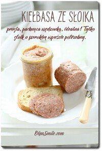Sausage from the jar Kitchen Magic, Kielbasa, Diy Food, Sausage, Favorite Recipes, Jar, Homemade, Ethnic Recipes, Camping