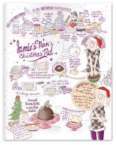Jamie's Nan's Christmas Pudding