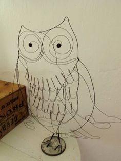 wire owl