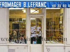 traditional french store
