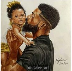New Ideas Black Art Family African Americans Art ~ neue ideen black art family afroamerikaner art New Ideas Black Art Family African Americans Art ~ Black art, art Criativa, Beautiful art Art Black Love, Black Girl Art, Black Is Beautiful, Art Girl, Beautiful Lips, Simply Beautiful, Art Amour, Afrique Art, Black Fathers