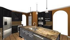 bw kitchen render