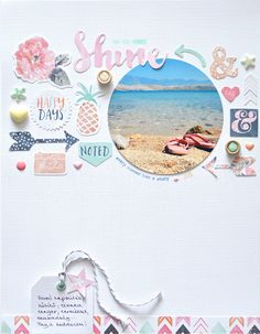 Landscape layout Pag (Pink and Paper) 2019 x 11 SCRAPBOOK LAYOUT I love how she has used a circle photo such a pretty layout. The post Landscape layout Pag (Pink and Paper) 2019 appeared first on Scrapbook Diy. Love Scrapbook, Album Scrapbook, Scrapbook Page Layouts, Travel Scrapbook, Scrapbook Paper Crafts, Friend Scrapbook, Scrapbook Cover, Scrapbook Sketches, Mini Albums